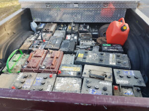 Wanted old truck car batteries