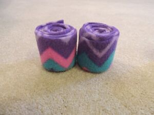 Custom Purple and Pink Mini Horse Polos