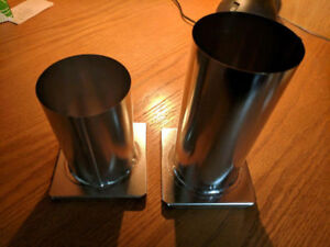 2 (Two) Cicle / Round Candle Making Molds