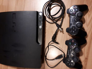 PS3 w/ 2 Controllers and/or Games
