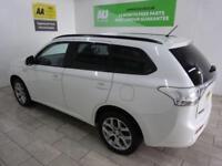 WHITE MITSUBISHI OUTLANDER 2.0 PHEV GX 3H ***FROM £327 PER MONTH***