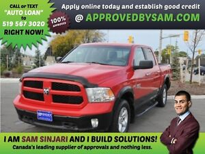 1500 4X4 - Payment Budget and Bad Credit? GUARANTEED APPROVAL.