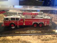 1/64 DIECAST CODE 3 FIRE TRUCK OF NEW YORK LADDER 49 DETAILED City of Montréal Greater Montréal Preview