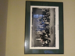 Vacouver canucks collective framed picture...THE BIG STEAL