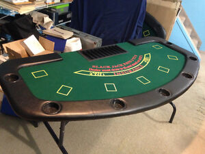 Black Jack Tables (Two Available, Priced Individually) London Ontario image 1