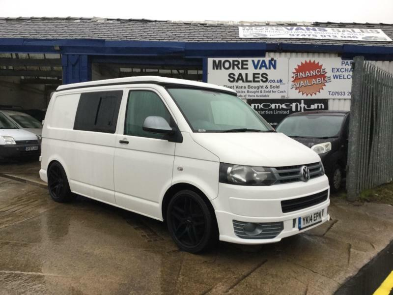 Mad Friday Sale 2014 VOLKSWAGEN TRANSPORTER 2.0 tdi 4 berth pop top camper