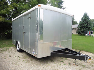 Harley Palace -2008 double wide enclosed motorcycle trailer