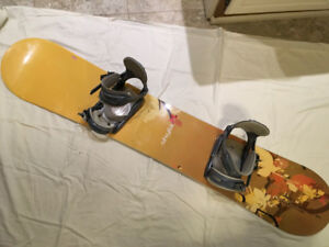 WOMAN'S SNOWBOARD PACKAGE