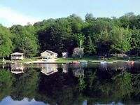 5 MUSKOKA LAKEFRONT COTTAGES - IDEAL FAMILY COMPOUND!