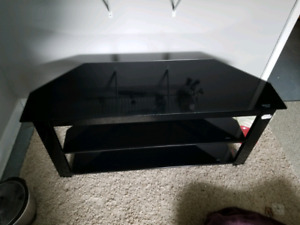 Tinted Glass TV stand