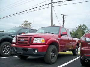 2010 RANGER! 119$ BI WEEKLY OAC.  LOW MILEAGE.  NEW TIRES