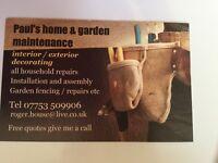 house & garden maintenance
