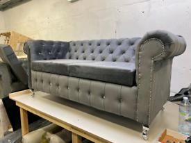Brand New Chesterfield 3+2 and Corner Sofa