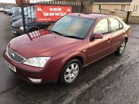 2004 (54) MONDEO ZETEC, 3 MONTHS MOT, TRADE IN TO CLEAR