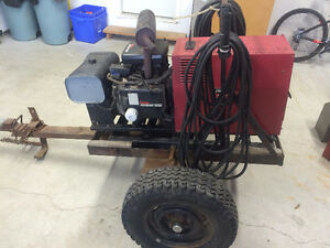 Gas Powered Lincoln Welder