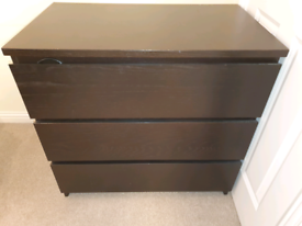 Ikea Units - Black/Brown