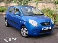 EXCELLENT VALUE!!! 2010 KIA PICANTO 1.1 STRIKE 5dr, FFSH, 1 OWNER, 1 YEAR MOT