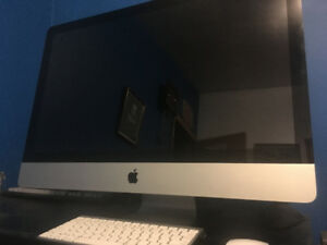 """27"""" Mid-2011 iMac 3.1GHz i5, 12GB DDR3, 1TB HDD"""
