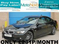 BMW 335I 3.0 auto 2008MY i M Sport, TAKE ME HOME FOR £231 P/MONTH £0 DEPOSIT