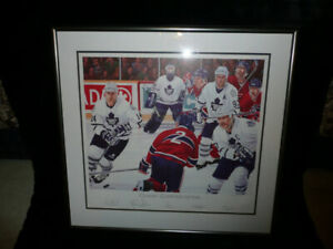 Toronto Leafs Limited Print Find Art Antiques Vintage