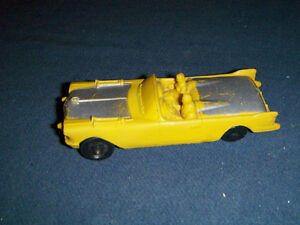 VINTAGE AUBURN RUBBER CO. TOY CAR-1940/50S-REPAIRED