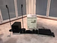Tannoy surround speakers EFX 5.1. With Samsung Receiver