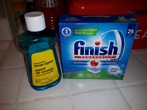 Finish Powerball Tabs & Rinse Aid