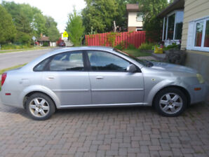 Chevrolet Optra 2005, Reduced Price: $1000 incl. winter tires