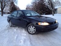 1999 Toyota Corolla, mint, safetied !!