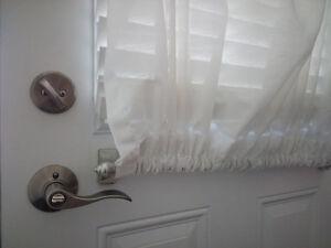 Sheer Grommet with Magnetic Rod for Door London Ontario image 5