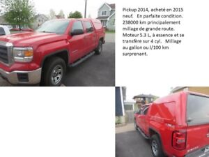 Pickup GMC Sierra 2014 en excellente condition à vendre