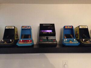 Collection de Mini arcade Table Top Coleco