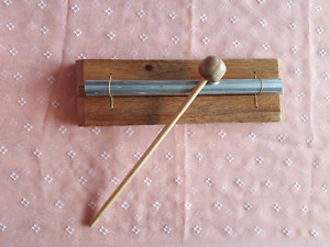 Solid Wood & metal cylinder music Instrument