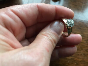Early Modern Brilliant Cut Diamond 1.2 ct in 14 KT yellow gold London Ontario image 3