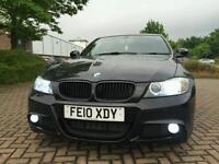 2010 FACELIFT E90 BMW 320D M-SPORT AUTO BLACK