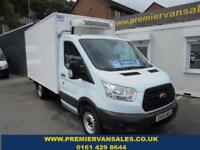 2014 64 FORD TRANSIT 2.2 TDCI, 350 C/C REFRIGERATED BOX VAN, OVERNIGHT STANDBY,