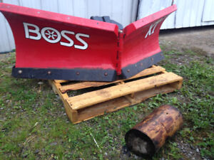 "Boss XT. 5' 6"". V  plow for atv or UTV"
