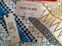 River Island sleeveless jacket size 12 brand New