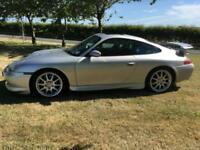 99V 911/996 Porsche Carrera 2. Factory fitted aero kit and rear spoiler. (GT3)