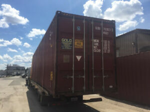 Used 20ft and 40ft Steel Shipping Containers