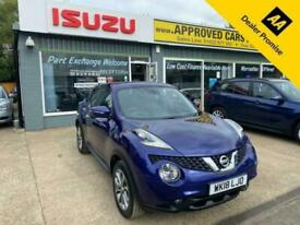 image for 2018 Nissan Juke 1.5 TEKNA DCI 5d 110 BHP IN BLUE WITH 51,000 MILES AND A FULL S