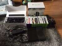 Boxed xbox 360 and accessories