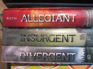 Divergent hard cover triloogy