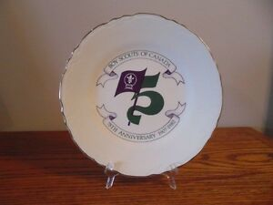Limited Edition 1982 Boy Scouts 75th Anniversary Plate London Ontario image 1