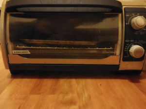 Black and Decker toaster oven for $10.