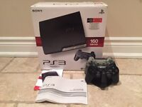 160GB PS3 BUNDLE W/ 2 CONTROLLERS & GAMES $175!