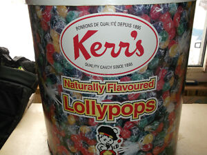 Kerr's Lollypop container Cornwall Ontario image 1