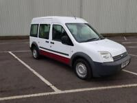 2008 08 PLATE FORD TRANSIT TOURNEO CONNECT T230 90 CREW VAN 1.8 TDCI