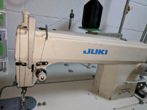 Juki DDL-5550N single needle industrial sewing machine