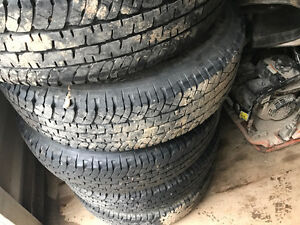LT235/80R17 Tire and Wheel